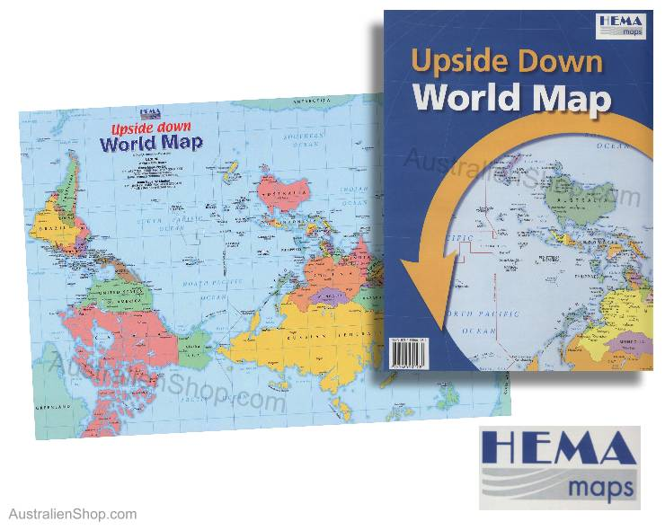 upside down world map pdf