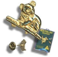Golden Hat Pins / Anstecknadeln, vergoldet