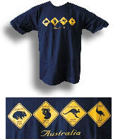 Roadsigns - Gooses Australien T-Shirt