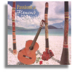 CD - Passions of Flamenco & Didgeridoo - Ash Dargan