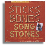 CD - Sticks Bones & Song Stones - Ash Dargan