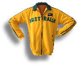 "Zip-Jacket ""Australia"" yellow - Trikot"