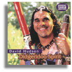 CD  Didgeridoo Spirit - David Hudson Australien