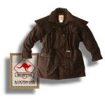 SCIPPIS Drover Jacket - brown