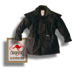 SCIPPIS Drover Jacket - black
