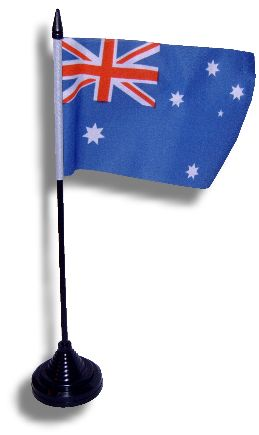 Australian Flag with Stand