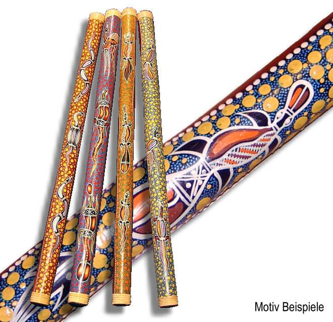 Didgeridoo - Dot Painting - Australien
