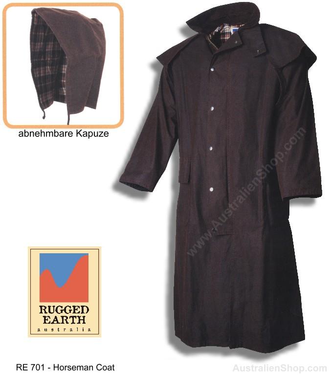 50% Preis beste website Sortendesign Wachsmantel Horseman - Rugged Earth Australien
