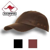 Leather Cap - Scippis Australien