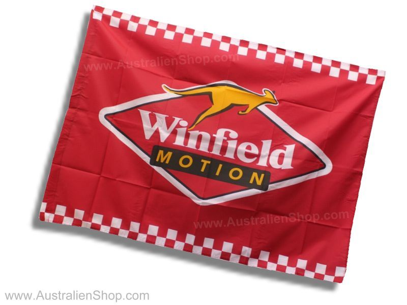 Winfield Racing Flag - Fahne Flagge Australien