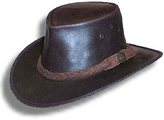 "Leather Hat ""Old Softy"""