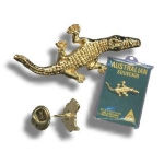 "Pin ""Large Crocodile"""