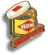 "Metall Badge ""Vegemite Australia"""